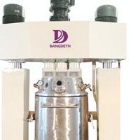 中性玻璃胶成套生产设备 变频力度强分散机