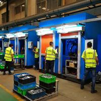 阔曼机器人焊接站防护门,自动焊接防护门品质一流,质保2年