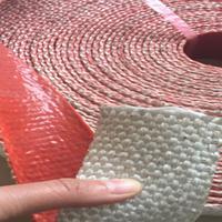 供应鑫茂牌耐高温硅胶玻纤缠绕布