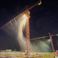 供应采石场石材厂建筑工地工矿业全自动水雾除尘加湿降温设备