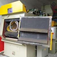 佛山蒙砂机生产厂家橱柜铝材处理喷砂机履带式抛丸机打沙机***