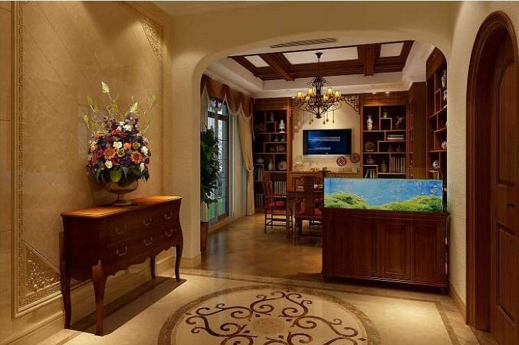 风格要点中国风的构成主要体现在传统家具(多为明清家具为主),装饰品