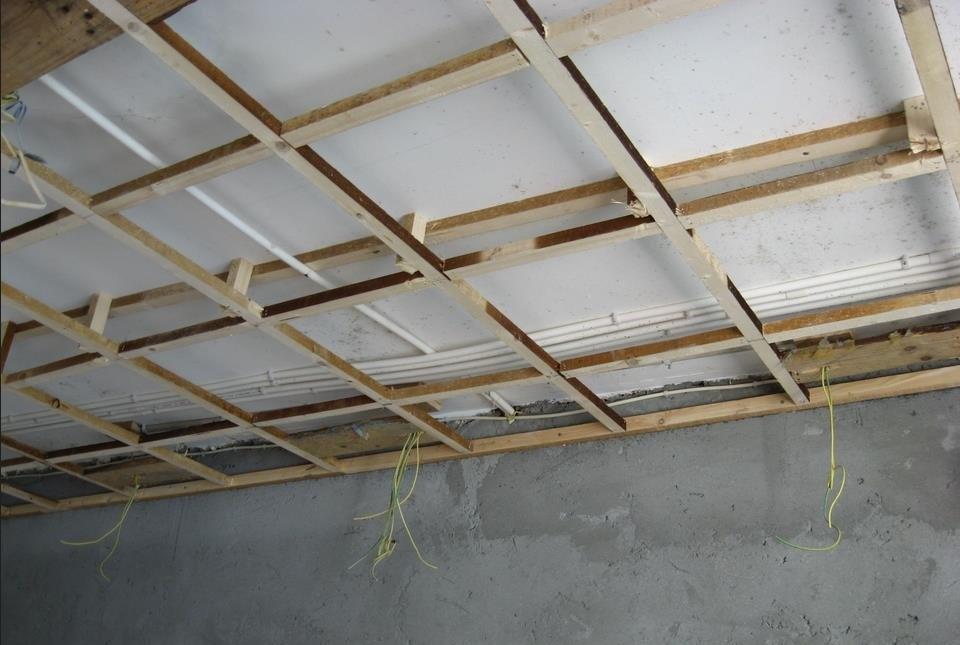 木龙骨吊顶安装视频 木龙骨二级吊顶结构图阴角怎么安装