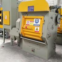 氧化皮电镀挂具处理打沙机佛山履带式抛丸机喷砂机设备制造商