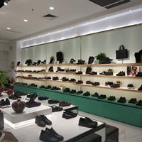 南京商场男士鞋柜烤漆鞋柜制作厂家南京鞋包展柜南京鞋帽展柜定制