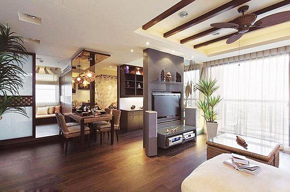 客厅与餐厅屏风 餐厅与客厅隔断设计的运用技巧有哪些
