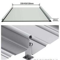 浙江厂家提供安装65-500直立锁边铝镁锰金属屋面板