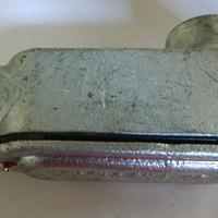 宁波LB型防爆穿线盒 热浸锌可锻铸铁拐角盒G20