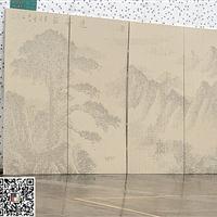 DPL隆重新推出镂空风景图案铝板-雕刻风水花铝单板