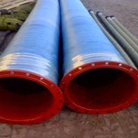河北法兰大口径胶管 高压大口径胶管价格