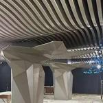 北京弧形铝方通吊顶-弧形铝方通造型厂家
