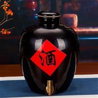 厂家定做30斤陶瓷酒坛 景德镇50斤装酒坛子成批出售