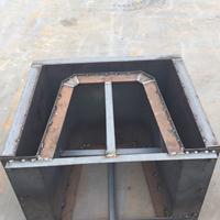 流水槽钢模具 水泥流水槽模具 玉达模具自主研发