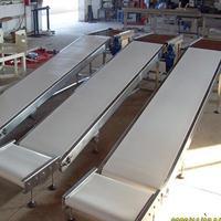 平板不锈钢食品输送机加工 多用途倾斜食品输送机 新