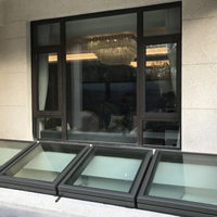 地下室铝合金采光天窗