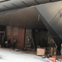 酒店招牌门头装饰铝单板【门头雨棚铝单板】外墙穿孔雕花铝单板