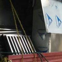 西安不锈钢201排烟罩生产供应