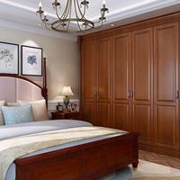 南宁板式整体卧室组合移门实木衣柜定做
