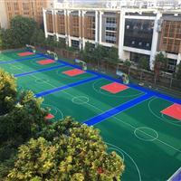 沈阳拼装篮球场悬浮地板施工,幼儿园悬浮式拼装地板施工