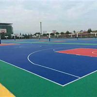 大连篮球场拼装悬浮地板安装施工,大连幼儿园悬浮地板安装