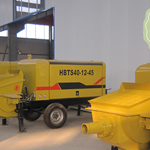 大安市小型混凝土地泵重新定义好设备