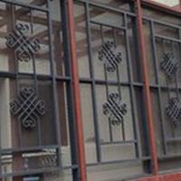 定制大小鋁掛落 屏風 各種造型鋁窗花直銷廠家