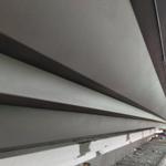 屋檐装饰铝单板,装饰线条