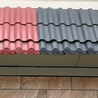 山东全瓷全直角欧式连锁屋面陶瓷彩瓦公司批发:菏泽、枣庄、济宁
