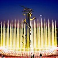 河北音乐喷泉设计施工有需要的来若艺古建