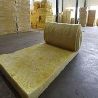 河北龙飒保温批发憎水玻璃棉毡 隔热离心玻璃棉卷毡12kg100mm