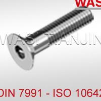 沉头内六角螺栓DIN7991