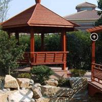 兰州景观木凉亭,木结构工程施工