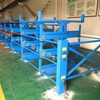 钢管货架存放6米12米管材 行车存放节省空间使用方便