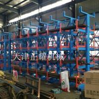 6米型材存放伸缩悬臂式型材货架