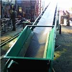 隆化PVC带输送机生产 爬坡上料输送机价格  新