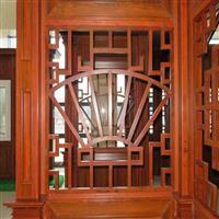 艺术铝窗花-仿木纹铝花格-雕刻铝窗花-广东德普龙建材