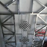 广州铝窗花厂家 铝屏风制作过程价格