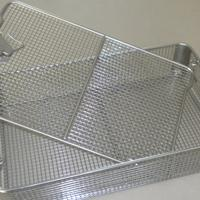 不锈钢器械筐 器械装载篮 医用清洗篮厂家现货处理