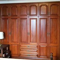 长沙原木全房家具自己设计、原木书柜、博古架订做优质工厂