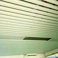 木纹铝合金方通-U型铝方通-吊顶铝方通装饰