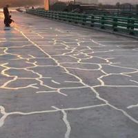 工程師A6橋面鋪裝混凝土地面裂縫修復
