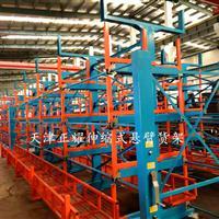 伸缩悬臂式货架改变传统地面堆放的存储形式