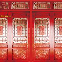 成都四合院门窗厂,古建寺庙花格门窗设计定制