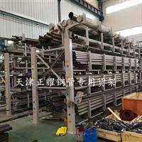 钢管地面堆放占地大使用不方便怎么办 钢管专项使用货架
