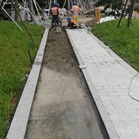 深圳三磊石材厂芝麻白栏杆桥梁石材栏杆石栏杆加工石材栏杆厂家