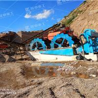 砂水洗设备 矿山洗沙机处理现场