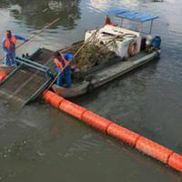 自漂式简易拦污排 河道漂浮式浮漂