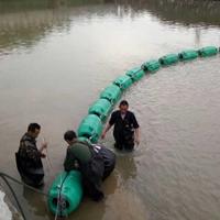 水库树枝木头拦截漂排 生活垃圾拦污浮筒