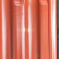 经过高温烧制的全瓷连锁瓦 西式S我 波形屋面瓦的特点介绍