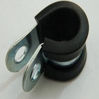 江宁区供应20mmR型金属管夹 P型连胶条卡箍